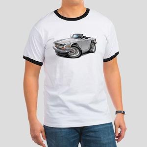 Triumph TR6 White Car Ringer T