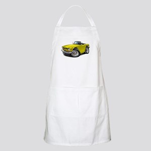 Triumph TR6 Yellow Car Apron