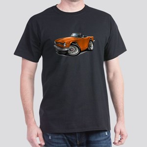 Triumph TR6 Orange Car Dark T-Shirt
