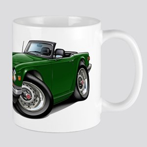 Triumph TR6 Green Car Mug
