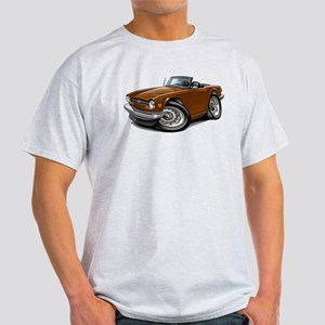 Triumph TR6 Brown Car Light T-Shirt