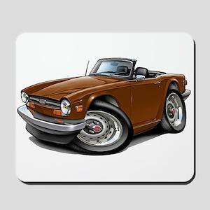 Triumph TR6 Brown Car Mousepad
