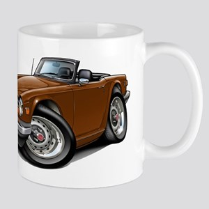 Triumph TR6 Brown Car Mug