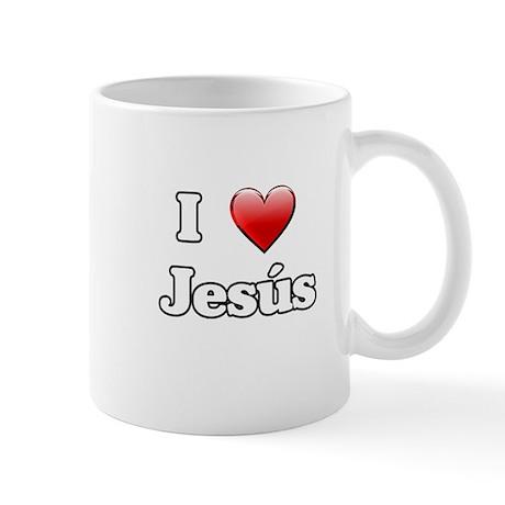 I Heart Jesus Mug
