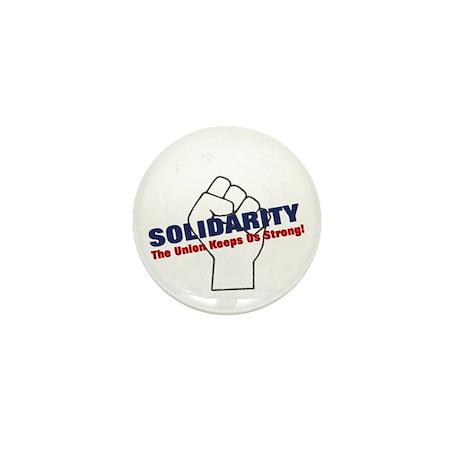 Solidarity - White State - Fi Mini Button (100 pac