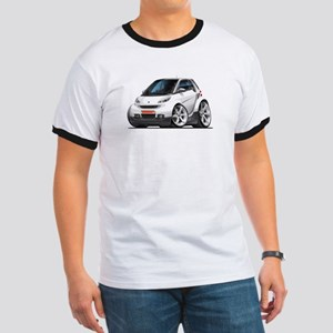 Smart White Car Ringer T