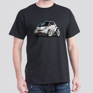 Smart White Car Dark T-Shirt