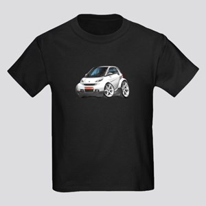 Smart White Car Kids Dark T-Shirt