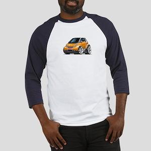 Smart Orange Car Baseball Jersey