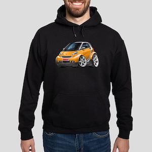 Smart Orange Car Hoodie (dark)