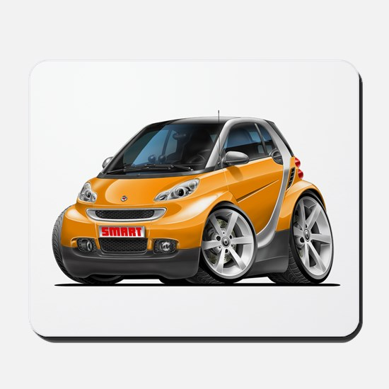Smart Orange Car Mousepad