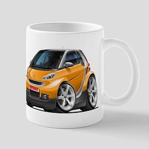 Smart Orange Car Mug