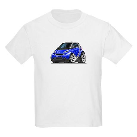 Smart Blue Car Kids Light T-Shirt