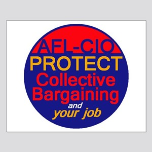 Collective Bargaining Small Poster