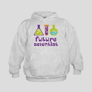 Future Scientist Science Kids Hoodie