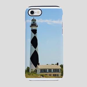 Cape Lookout Lighthouse iPhone 7 Tough Case