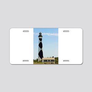 Cape Lookout Lighthouse Aluminum License Plate