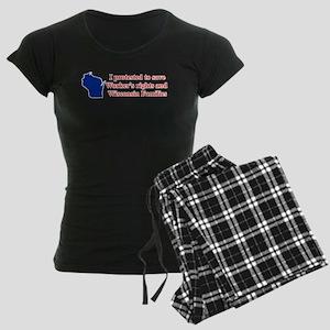 I Protested... Women's Dark Pajamas
