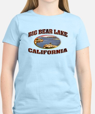 Big Bear Lake Women's Light T-Shirt