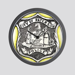 Paterson Police Wall Clock