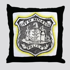 Paterson Police Throw Pillow