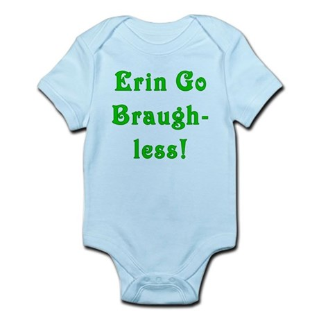 Erin Go Braugh-less Infant Bodysuit