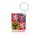 Czech Republic Aluminum Photo Keychain