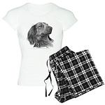 Long-Haired Dachshund Women's Light Pajamas