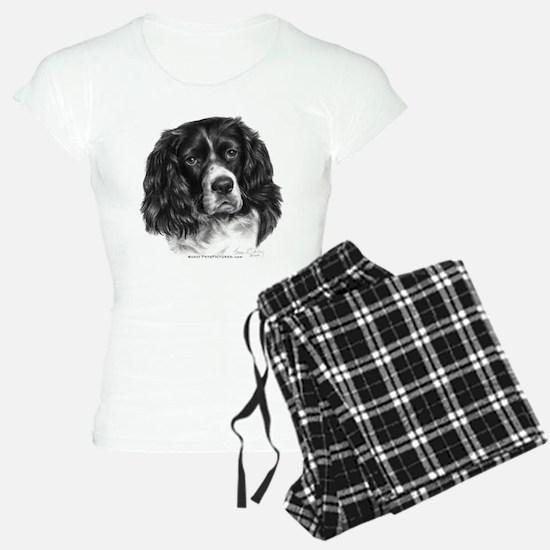 Cocker Spaniel (Parti-color) Pajamas