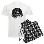 Cocker Spaniel (Parti-color) Men's Light Pajamas