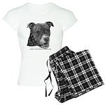 Roxy, Pit Bull Terrier Women's Light Pajamas