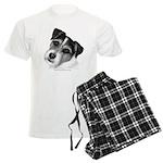Jack (Parson) Russell Terrier Men's Light Pajamas