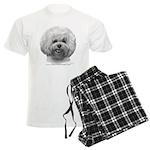 Bichon Frisé Men's Light Pajamas