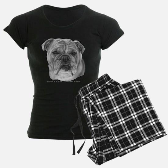 Allie, English Bulldog Pajamas