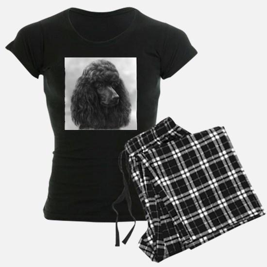 Black or Chocolate Poodle Pajamas