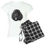Shadow, Standard Poodle Women's Light Pajamas