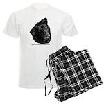 Corvis, Black Lab Mix Men's Light Pajamas