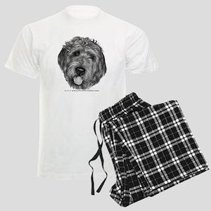 Labradoodle Men's Light Pajamas