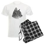 Abysinnian Cat Men's Light Pajamas