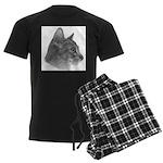Abysinnian Cat Men's Dark Pajamas