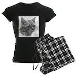 Bengal Cat Women's Dark Pajamas