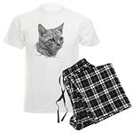 Bengal Cat Men's Light Pajamas