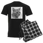 Bengal Cat Men's Dark Pajamas