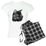 Tortoise Short-Hair Cat Women's Light Pajamas