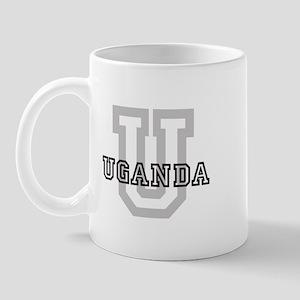 Letter U: Uganda Mug