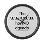 TRUTH Large Wall Clock