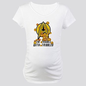 Trouble With Tribbles Maternity T-Shirt