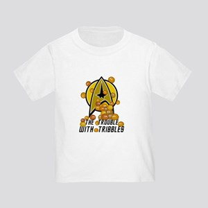 Trouble With Tribbles Toddler T-Shirt