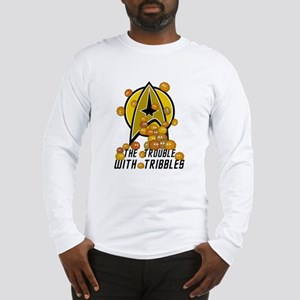Trouble With Tribbles Long Sleeve T-Shirt