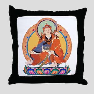 Guru Rinpoche/Padmasambhava Throw Pillow